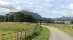 The mountains of Killarney, Co Kerry, Ireland. - stock footage
