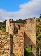 Stock Photo of alcazaba in malaga, spain