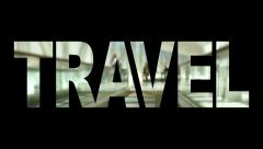 Word Videos Travel Stock Footage