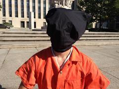 Guantanamo Bay Protest Stock Photos