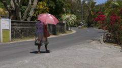 Mauritius Street Stock Footage