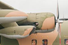 large airplane body - stock photo
