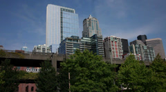 SEATTLE SKYLINE_1 Stock Footage