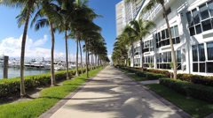 Stock Video Footage of Miami Beach Marina