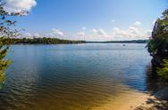 Stock Photo of lake wylie waterscapes on a sunny day