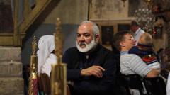 Orthodox deacon Stock Footage