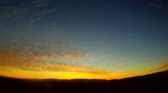 Sunrise Santa Clarita Stock Footage