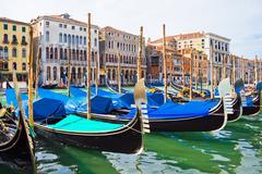 Gondola in Venice - stock photo
