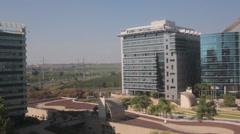 Israel High Tech Business Center Stock Footage