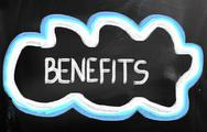 Stock Illustration of benefits concept