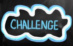 Challenge concept Stock Illustration