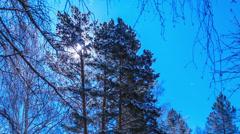 Lunar landscape. Time Lapse Stock Footage