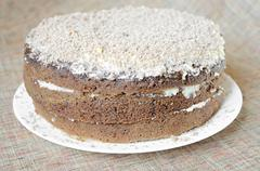 Stock Photo of tasty cake