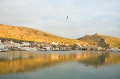 Stock Photo of view of bay in balaclava