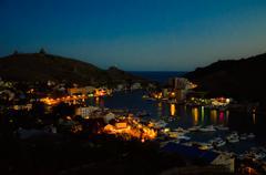 View on Balaclava bay - stock photo
