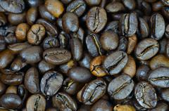 Stock Photo of coffee grains