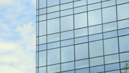 Stock Video Footage of Modern office building windows