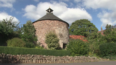 Dovecote in dunster Stock Footage