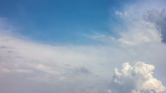CLOUDS, NO BIRDS! MADE OF RAW OUTPUT:4K (4096x2304 & 3840x2160) &1080p Stock Footage