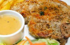 Stock Photo of pork steak