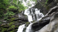 Shipot waterfall in the Carpathians. Stock Footage