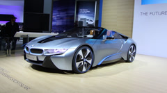 BMW i8 Stock Footage