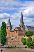 Fuldaer dom (cathedral) in fulda, hessen, germany Stock Photos