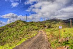 north-west mountains of tenerife, canarian islands - stock photo