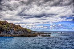 north-west coast of tenerife, garachico, canarian islands - stock photo