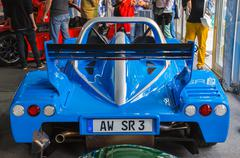 frankfurt - sept 21: radical rxc presented as world premiere at the 65th iaa  - stock photo