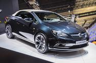 Stock Photo of frankfurt - sept 21: opel astra cabrio presented as world premiere at the 65t