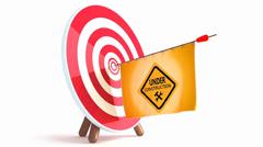 Target underconstr Stock Footage