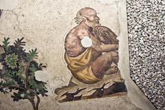 Byzantine fresco Stock Photos