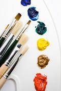Artists tools Stock Photos