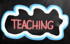 teaching concept - stock illustration