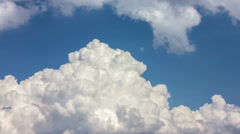 NO BIRDS! 4K & HD options; CLOUDS - MADE OF 14 bit RAW OUTPUT! - stock footage