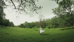 Happy Bride and Groom Stock Footage