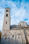 Molfetta cathedral Stock Photos
