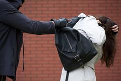 Assaulting a student Stock Photos