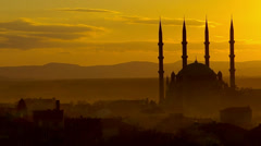 mosque in Edirne - stock footage