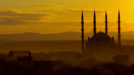 Stock Video Footage of mosque in Edirne