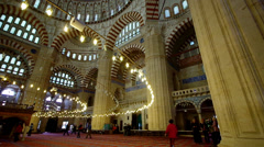 Mosque in Edirne Stock Footage