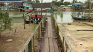 Stock Video Footage of Mersing Jetty