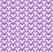 purple interlaced circles textured fabric background - stock illustration