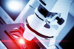 laser processing - stock photo