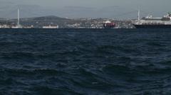Bosphorus Istanbul  Turkey - stock footage