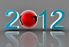 new 2012 - stock illustration