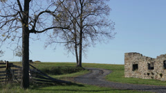 Gettysburg Civil War battlefield Stock Footage