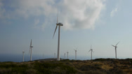Stock Video Footage of wind turbine 1