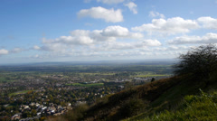 Worcestershire Panorama. Stock Footage